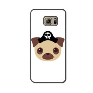 Funda de samsung (todos los modelos) con Diseño Perro Pirata