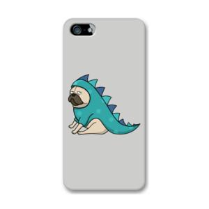 Funda de iPhone (todos los modelos) Diseño Dino Pug